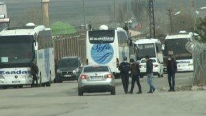 Erzurum cezaevinde tahliyeler başladı