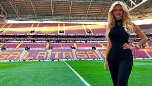 Galatasaraylı Rus güzel Victoria Lopyreva, huzuru yogada buldu