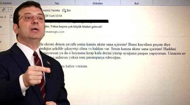İmamoğlu'nu tehdit eden şahıs CHP üyesi çıktı