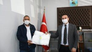 İnegöl halk otobüslerinde maske dağıtımı başladı - Bursa haberleri
