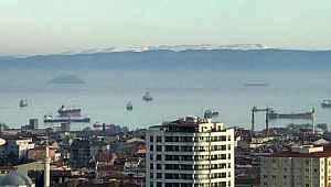 İnsanlar evde kalınca, Uludağ İstanbul'dan cam gibi görünmeye başladı