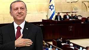 İsrail Meclisi'nde, Cumhurbaşkanı Erdoğan'ın övülmesi tartışma çıkardı