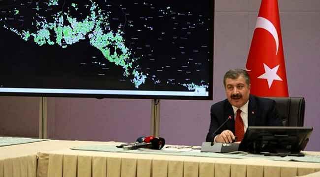 İstanbul'da koronavirüs salgını riski bazı ilçelerde daha az olduğu gözlemlendi