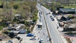 İstanbul'da yasağa saatler kala asayiş ve trafik denetiminde ceza yağdı