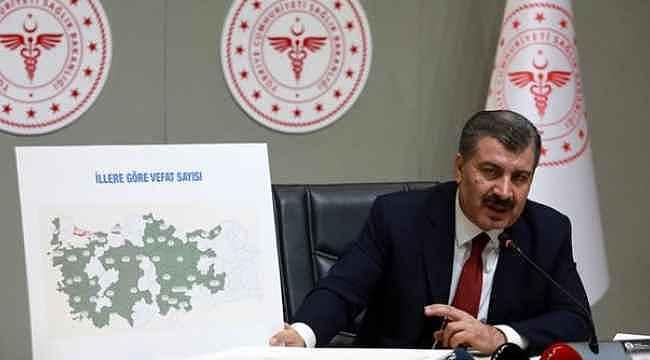 İşte illere göre koronavirüs haritası... Hangi kentte kaç vaka var?