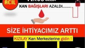 Kan bağışına çağrı
