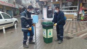Karacabey Belediyesi'nden kullanılmış maske ve eldivenler için tedbir - Bursa Haberleri