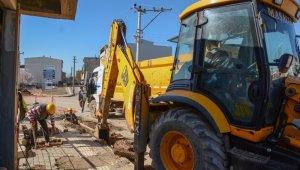 Karacabey'de elektrik hatlarının yer altına alınma çalışmaları tam gaz - Bursa Haberleri