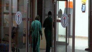 Karantinada bulunan şahıs hastaneden kaçtı