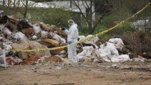 Kocaeli'de hafriyat döküm alanında çuval içerisinde çürümüş ceset bulundu