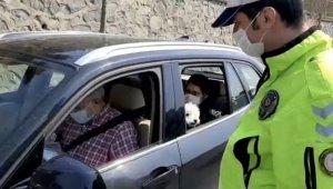 Köpeğini ameliyata götüren çiftle polisin diyaloğu dikkat çekti