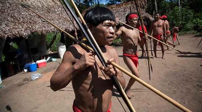 Korona, Amazon'da dış dünyadan izole halde yaşayan halka da sıçradı