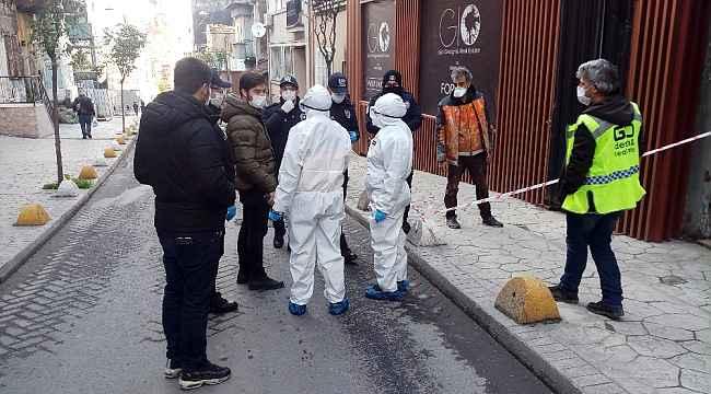 Korona virüs şüphesi bulunan şahıs kaçmaya çalıştı, polis ekipleri inşaata kilitledi