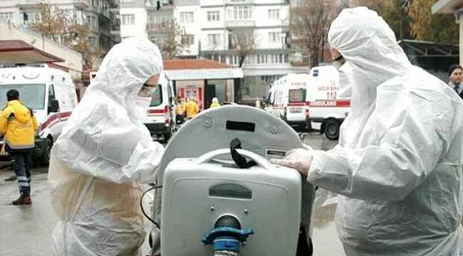 Koronavirüs salgının da en büyük kaybımız: Bugün 96 kişi hayatını kaybetti vaka sayısı 42 bini geçti
