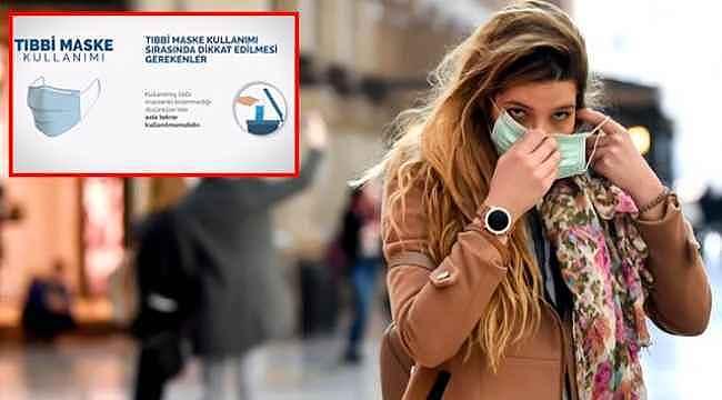 Maske nasıl kullanılmalı, nelere dikkat edilmeli? Sağlık Bakanlığı'ndan videolu anlatım