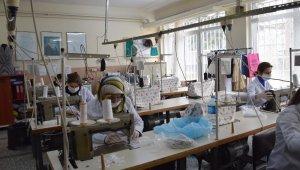 Meslek lisesi öğretmenlerinden maske üretimi - Bursa Haberleri