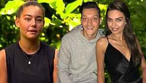 Mesut Özil ve Amine Gülşe'den Survivor Aycan'a destek mesajı