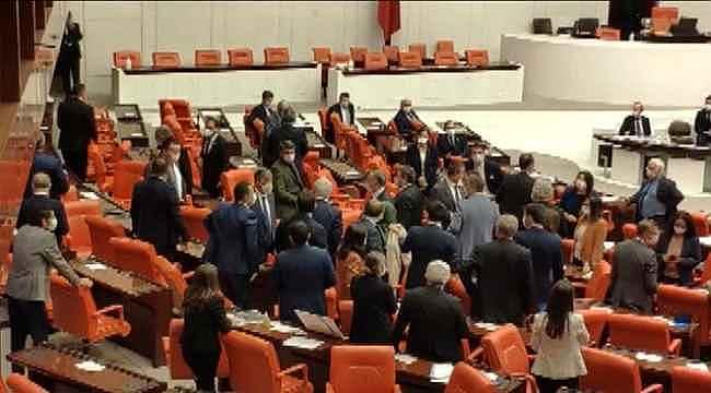 MHP'li vekilin PKK saldırısına yönelik sözleri sonrası Meclis karıştı