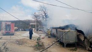 Mustafakemalpaşa'da mermer ocağında yangın çıktı - Bursa Haberleri