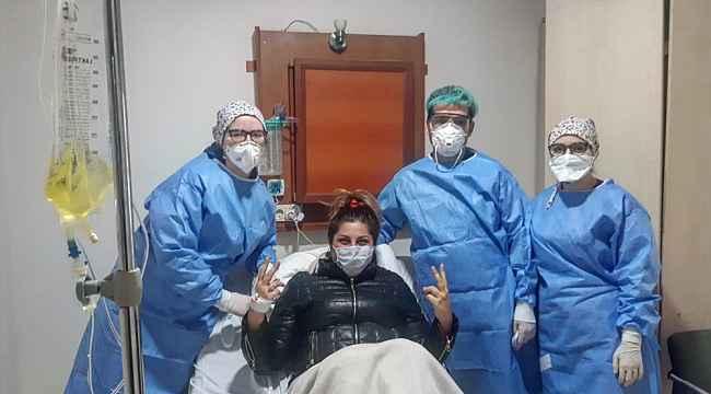 Nikahına 2 hafta kala yakalandığı korona virüsü yendi