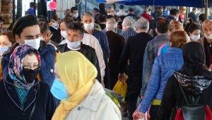 Pazarlar, sokağa çıkma yasağı öncesi doldu taştı - Bursa Haberleri