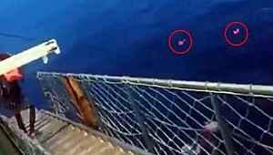 Personellerde koronavirüs tespit edildiğini duyup denize atladılar