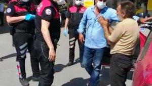 Polisi tehdit eden sürücüye 6 bin 905 lira ceza
