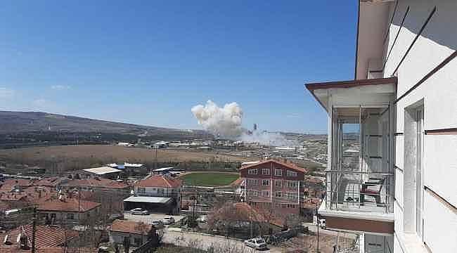 Roketsan'ın yakıt depolarında patlama: 3 yaralı