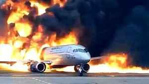 Rusya'da 41 kişinin öldüğü uçak kazasının yeni görüntüleri ortaya çıktı