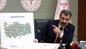 Sağlık Bakanı Koca'dan, İstanbul için : 'Türkiye'nin Vuhan'ı oldu.' benzetmesi