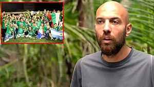 Sercan Yıldırım, Survivor'daki müthiş geri dönüşte Bursaspor'la yaşadıkları şampiyonluğu hatırlattı