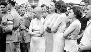 Tarihin karanlık sayfası... Alman askerlerle cinsel ilişkiye giren Fransız kadınların saçları kazıtıldı