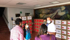 TİKA'dan Meksika'ya Covid-19 ile mücadelede destek