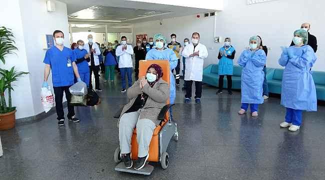 Tokat'ta korona virüsü yenen 41'inci hasta taburcu edildi