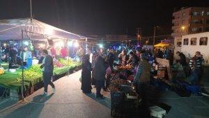 Vatandaşlar gece yarısı pazara akın etti - Bursa Haberleri