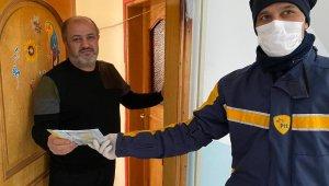 Vatandaşların e-devlet üzerinden talep ettiği maskelerin dağıtımına başlandı