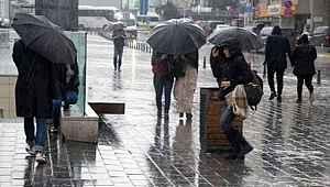 3 gün boyunca sağanak yağış bekleniyor