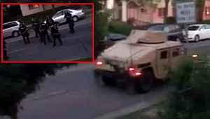 ABD'de polis ve ordu, evlerinden çıkanları vuruyor... Ancak mermiyle değil