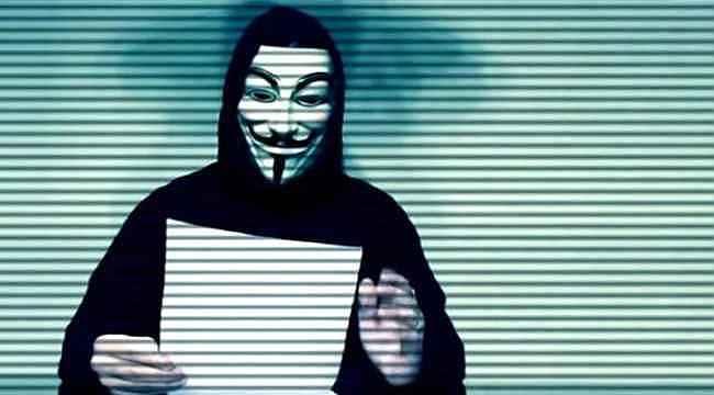 ABD'deki protestolara Anonymous da dahil oldu... Polis telsizlerini ele geçirdiler