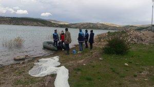 ABD uyruklu şahsın baraj gölüne bıraktığı balıklar bulunamadı