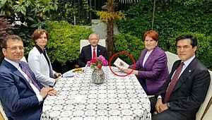 Akşener ile Kılıçdaroğlu'nun buluşmasındaki kitabın kime ait olduğu ortaya çıktı