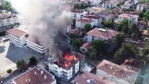 Amasya'da ev yangını