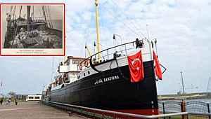 Atatürk'ün Samsun'a çıktığı geminin tek fotoğrafı! Canlı yayında hikayesini anlattı