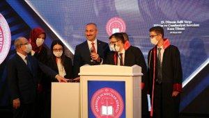 """Bakan Gül: """"Toplumun sizden adalet gibi çok önemli bir beklentisi olacak"""""""