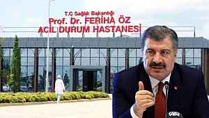 Bakan Koca, Prof. Dr. Feriha Öz Acil Durum Hastanesi'nin özelliklerini paylaştı