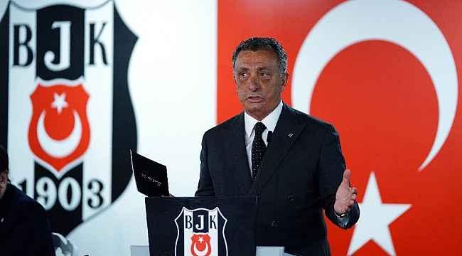 Beşiktaş'tan teşekkür mesajı