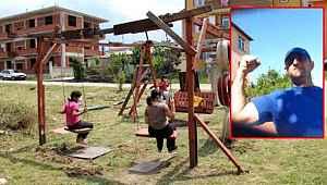 Boş arsaya çocuklar için park yapan vatandaş muhtar tarafından darp edildi