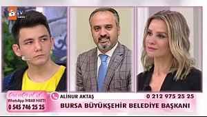 Bursa Büyükşehir Belediye Başkanı Aktaş Uğurcan'a sahip çıktı - Bursa Haberleri