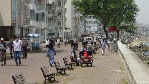 Bursa Güzelyalı Sahili'ndeki yoğunluk geçen haftaya göre azaldı - Bursa Haberleri