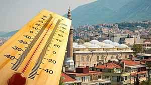 Bursa, son 75 yılın en sıcak günü yaşanarak olarak rekor kırdı! - Bursa haberleri